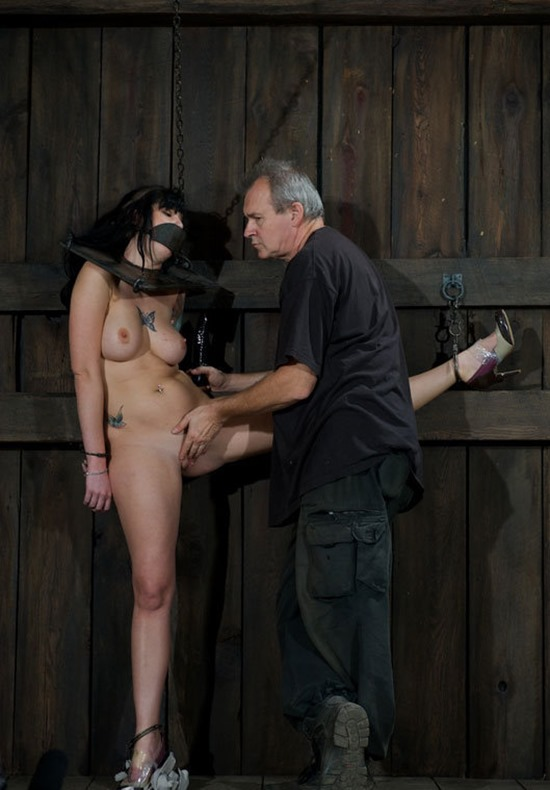 dungeon girl gets fucked and ball gagged