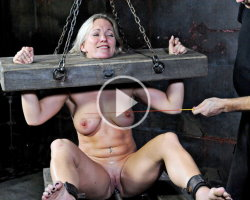 ball gagged spanked and tied